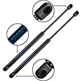 C16-04445 17 inch 55 lb Gas Strut Props Lift Supports 55 Lbs/245 N Gas Spring Shocks (17.2' extended) for ARE ATC Snugtop Leer Camper Shell Window Truck Cap Rear Door Storage Box C1604445
