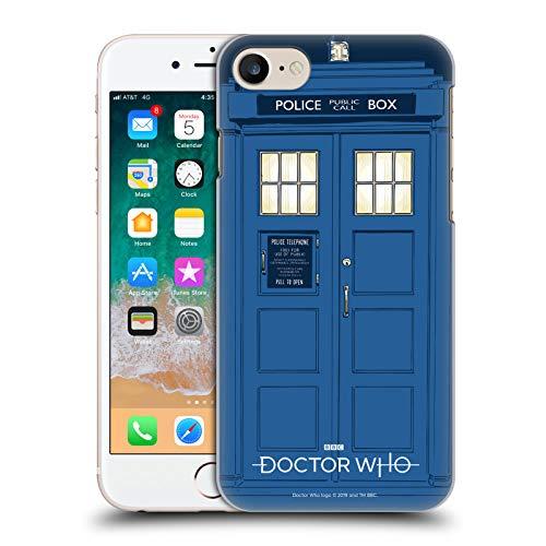 Head Case Designs Licenciado Oficialmente Doctor Who La Tardis Gráficos de la Temporada 11 Carcasa rígida Compatible con Apple iPhone 7 / iPhone 8 / iPhone SE 2020
