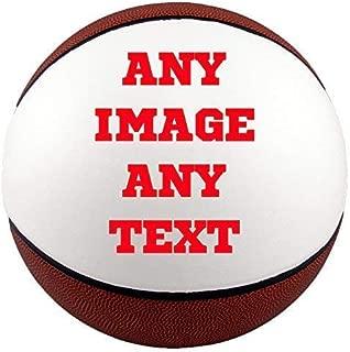 Personalized basketballs - Custom Photo Basketball Gift - Regulation Size Basketball - Any Image - Any Text - Any Logo