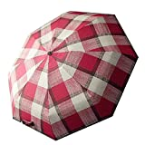 ZRJ Paraguas Portátil Uso Al Aire Libre Lluvia Resistente Al Viento Paraguas Conveniente Umbrella Buena Paraguas para Uso Al Aire Libre Paraguas Clásicos (Color : B)