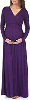 Womens Long Sleeve Wrap Dress by Rags and Couture