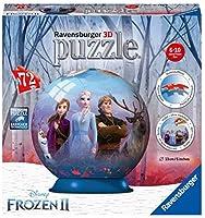 ラベンスバーガー アナと雪の女王2 球状 3D ジグソーパズル プラスチック製 72ピース パズル インテリア 飾り ディズニー (並行輸入品) ボール
