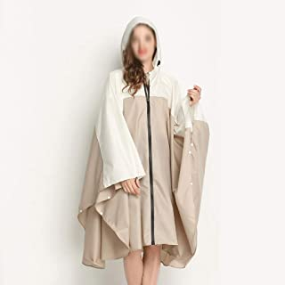 WZHZJ Breathable Women Raincoat Lightweight Rain Coat Poncho Ladies Waterproof Men Raincoats Adults Windproof Cloak