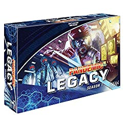 Pandemic Legacy Blue Board Game  Best Team-up Game; Allows couples to practice their cooperative skills