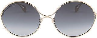 نظارة شمسية من جوتشي ذهبية GG0253SA - 001 رمادي متدرج 60 ملم