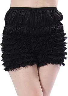 Womens Sexy Ruffle Panties Tanga Dance Bloomers Sissy Booty Shorts