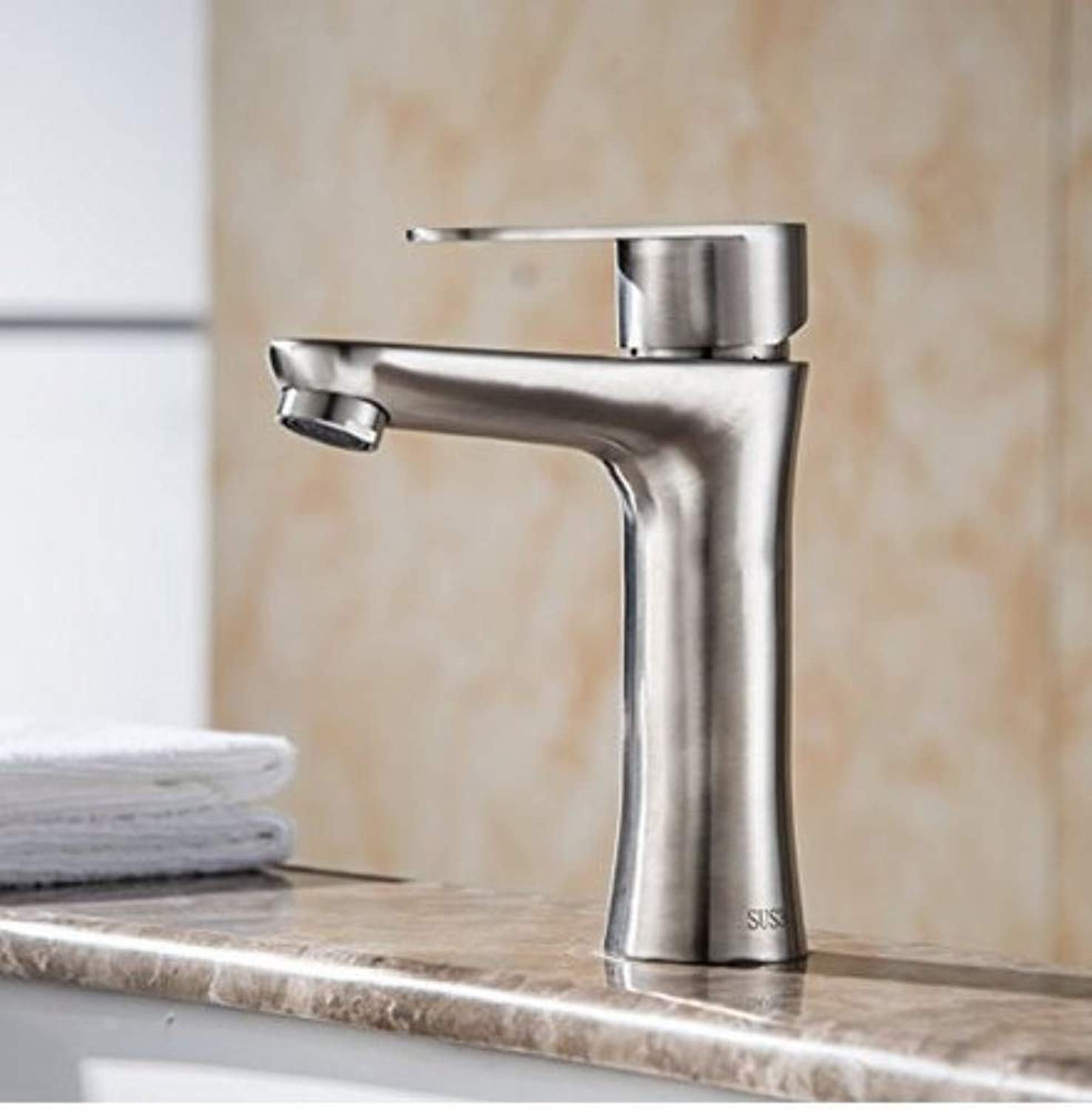 360° redating Faucet Retro Faucetbasin Single Hole Cold and Hot Water Faucet Bathroom Faucets