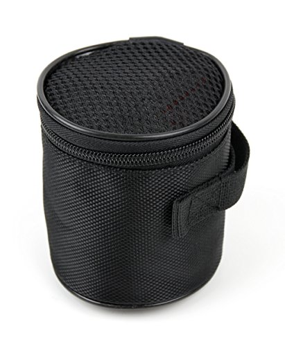 DURAGADGET Protective Travel Case for Small Speakers Compatible with Monstercube Mini Portable Water-Resistant Speaker Compatible with Shower/Outdoor (MLB-S)