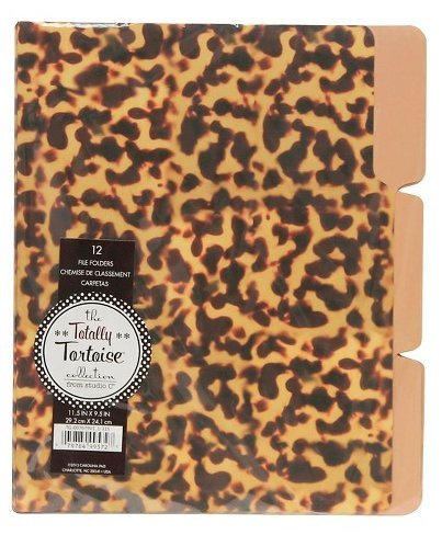 12 File Folders - The Totally Tortoise Collection 11.5 X 9.5