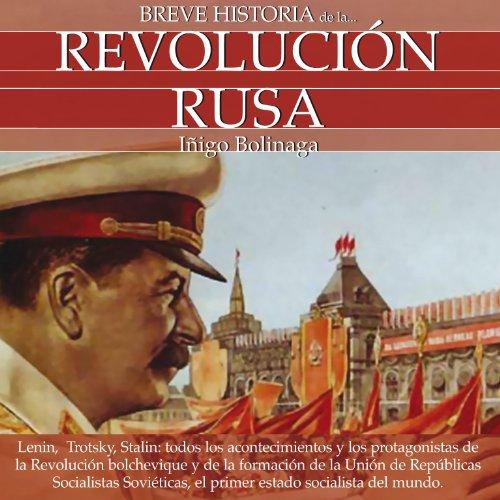 Breve Historia de la Revolución Rusa audiobook cover art