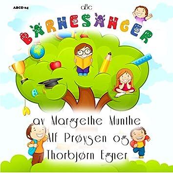 Barnesanger av Thorbjørn Egner, Alf Prøysen og Margrethe Munthe