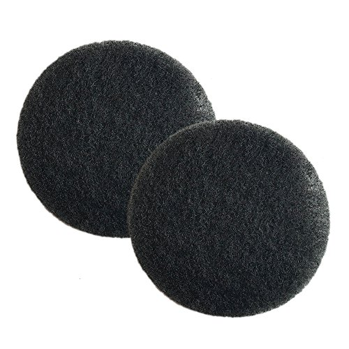 Crucial Vacuum Foam Filter Replacement Parts Compatible with Eureka Part # 38333 - Fits Eureka Mighty Mite MM Motor Foam Filter Fit Mighty Mite & Sanitaire Vacuums for Home, Office Use - Bulk (2 Pack)