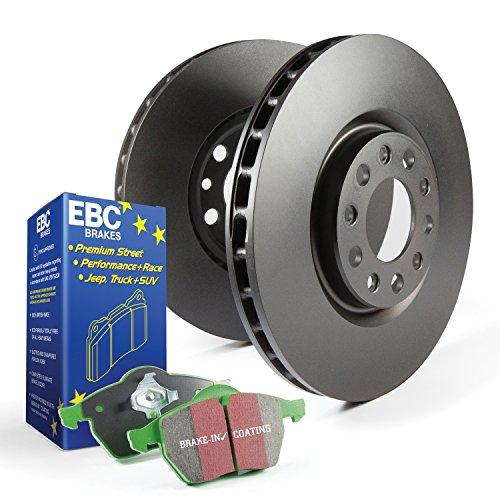 EBC BRAKES S14 Kits Green stuff and RK Rotors SUV Incl. Rotors and Pads Front Rotor Dia. 13.4 in. S14 Kits Green stuff and RK Rotors SUV