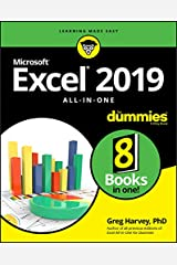 Excel 2019 All-in-One For Dummies Kindle Edition