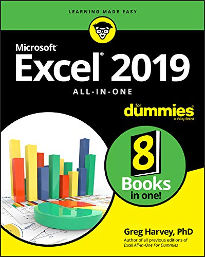 Excel 2019 All-in-One For Dummies (English Edition)