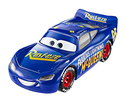 Mattel Disney Cars FDD58 - Disney Cars 3 1:21 Lights und Sounds Der Sagenhafte Lightning McQueen
