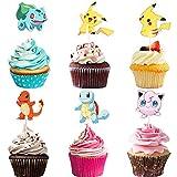 Cupcake Topper Set,adorno de pastel de bebe,FigurillaCupcake Toppers,Cupcake Toppers Picks para niños cumpleaños,FigurillaTema Party Decorations (120 piezas)