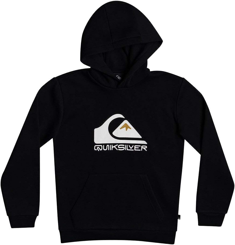 Quiksilver Big Logo Sudadera con Capucha para Ni/ños 8-16 Sudadera con Capucha Ni/ños