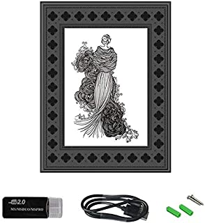 WiFi Fashion Photo Frame Spy Hidden Wireless Camera,BSTCAM 720P 1 Years Long Standby Times Night Vision Motion Activated P...