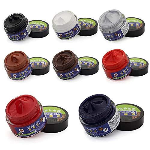 asterisknewly 30 ml Lederreparatur-Färbebeutel/Lederschuhe/Ledersessel/Lederpolster/Überholte Farbpaste Färbemittel-Pflegecreme