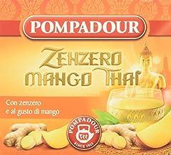 Idea Regalo - Pompadour Zenzero Mango Thai - 3 Confezioni da 10 bustine