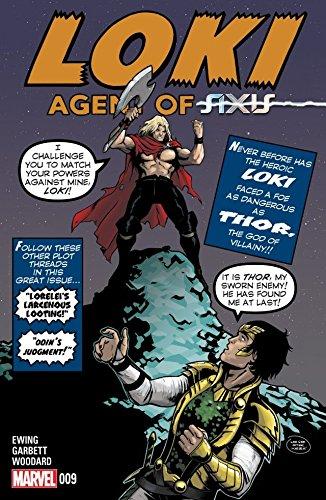 Loki: Agent of Asgard #9 (English Edition)