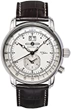Zeppelin Men's Analogue Quartz Watch with Leather Strap – 76401