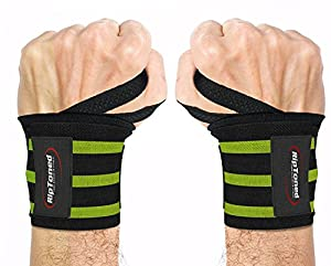 STABILIZE YOUR WRISTS & LIFT MORE WEIGHT OR WE'LL SEND YOUR MONEY BACK! - If you don't love your wrist wraps, return them. Order now and try them risk free. You'll literally wonder how you ever worked out without them. These high performance straps p...
