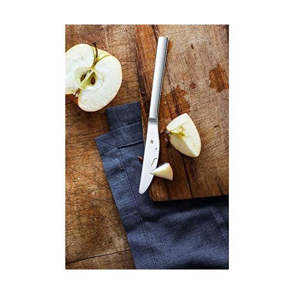 WMF Nuova - Juego de cuchillos de fruta (6 piezas, 18 cm, acero inoxidable Cromargan pulido)