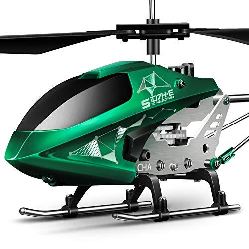 SYMA Metall Hubschrauber Ferngesteuert Indoor Mini RC Helikopter Flugzeug Geschenk Kinder 3.5 Kanal 2.4 GHz LED Gyro Schwebefunktion