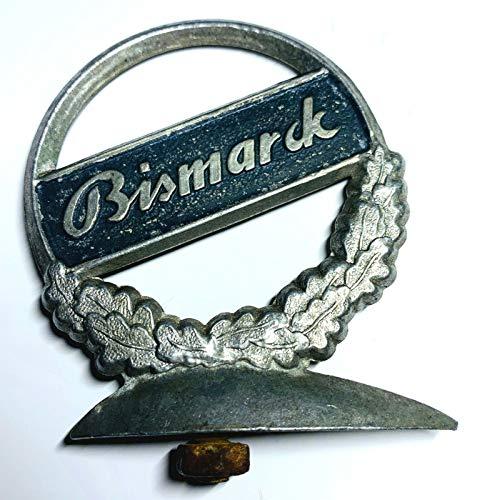 generisch Schutzblechreiter Bismarck Fahrrad Schutzblech Symbol Marke Emblem Sammler