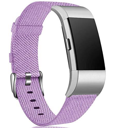 Linghuang - Cinturino di ricambio per Fitbit Charge 2