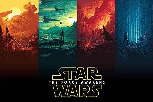Spetich Star Wars Puzzle 1000 Pezzi Classico Film Personalizzato per Adulti personalità Giocattoli in Legno Ad Alta Definizione-38 * 52Cm-500 Pezzi