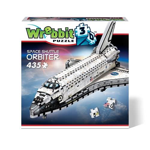 Wrebbit 3D Orbiter-Space Shuttle 3D-Puzzle, W3D-1008, Various, 45.75 x 29.25 x 20.25