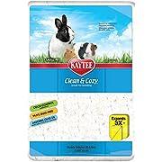 Kaytee 899529 Clean & Cozy Streu für kleine Haustiere / Nager / Hamster, 99.9 % staubfrei, Geruchskontrolle - 85 Liter, weiß