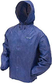 FROGG TOGGS UL62104 Men's Ultra Lite Rain Jacket,  Large,  Blue