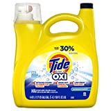 Tide Tide Simply + Oxi Liquid Laundry Detergent, Refreshing Breeze, 96 Loads, 150 fl oz, 150 Fl Oz