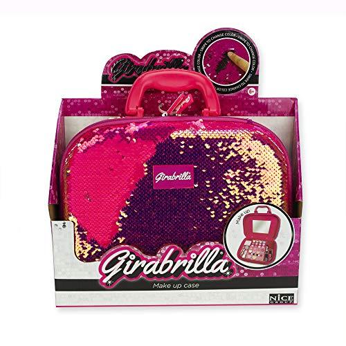 Nice Group- GIRABRILLA Valigetta Make up, Colore Magenta, 2522