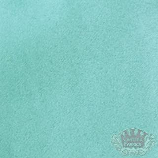"""58"""" Micro Suede Fabric""""Turquoise"""" for Upholstery (Passion Suede) BTY"""