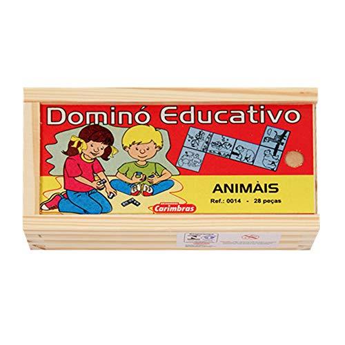 Dominó Educativo Animais - Carimbrás