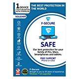 F-Secure SAFE Multi-device Internet Security 1 PC 3 Years (Email Delivery in 2 Hours - No CD)