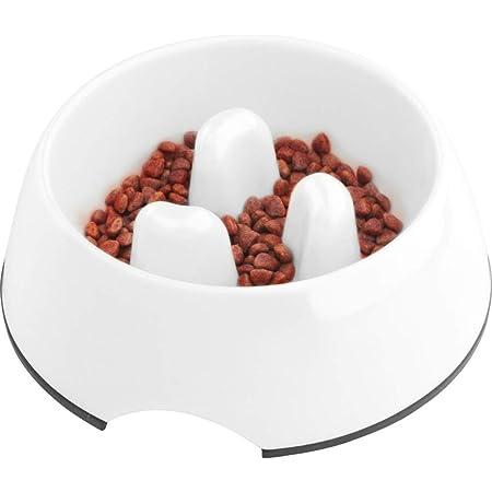 SuperDesign 犬 食器 犬猫用ボウル ペット食器 早食い防止 スローフード 健康志向 胃腸や身体への負担軽減でき 食事滑り止め 小中大型犬用 給餌器 洗いやすい ペット皿 ゆっくり食べる食器