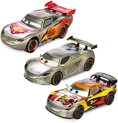 Disney Pixar Cars Silber Tricks die-casts, Set von 3