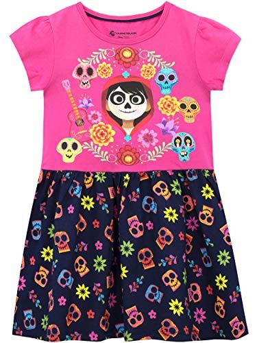 Disney Vestido para niñas Coco Multicolor 4-5 Años