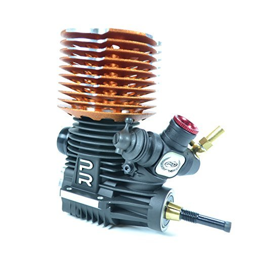 PR Racing D6-PRO 3.45cc .21 Off-Road Competition Nitro Buggy Engine (Turbo Plug)