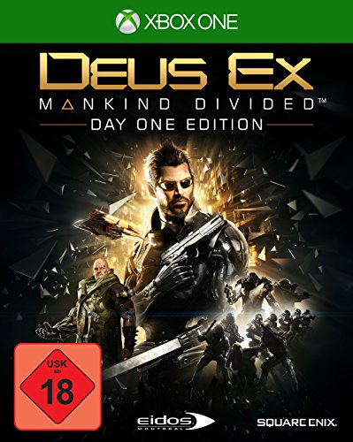 Square Enix Deus Ex: Mankind Divided Day One Edition Xbox One Básico Xbox One Alemán vídeo - Juego (Xbox One, Acción / Aventura, M (Maduro))