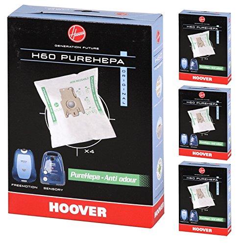Hoover Purepower Sensory Silent Energy H60PureHepa Staubsaugerbeutel für Staub Staubbeutel (16Stück)