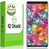 IQ Shield Screen Protector Compatible with Samsung Galaxy Note 9 (2-Pack)(Case Friendly) Anti-Bubble Clear Film