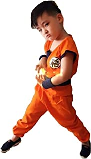 Dragon Ball Costume Son Goku Suit Outfit Cosplay Costume Kids Halloween Kung Fu Outfit
