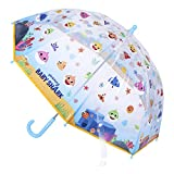 CERDÁ LIFE'S LITTLE MOMENTS- Paraguas Transparente de Baby Shark - Licencia Oficial Nickelodeon, Color (2400000542)
